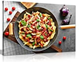 Restaurant Decor Italian Kitchen Pasta Canvas Wall Art Picture Print (36x24)