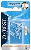 Dr.Best - Cabezales interdentales de repuesto (ultra finos, 10 unidades)