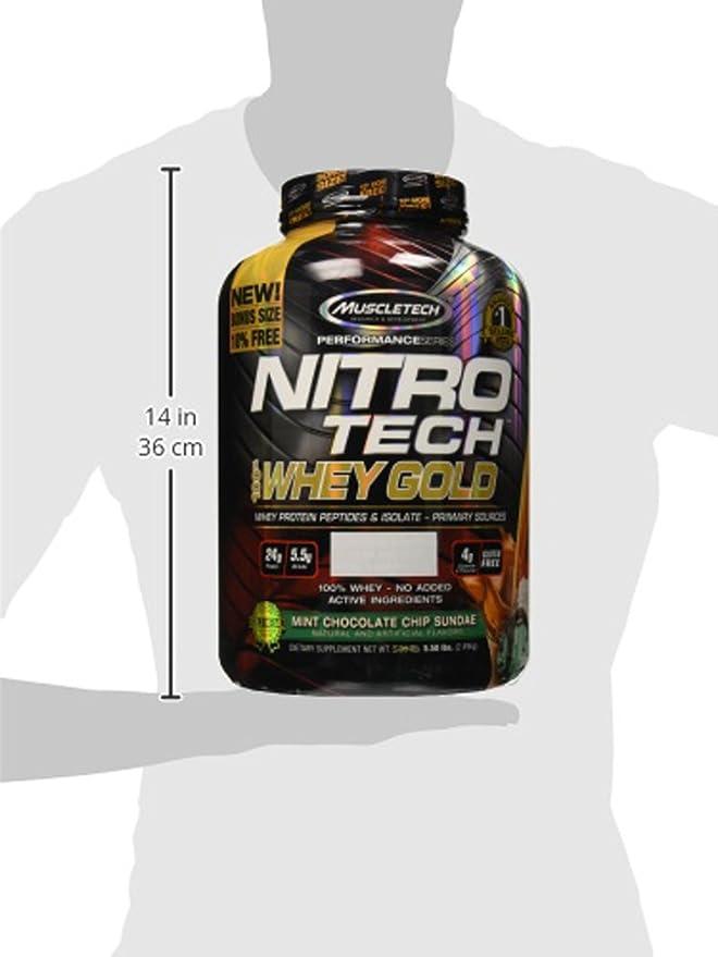 Muscletech Performance Series Nitro Tech 100% Whey Gold Mint Chocolate Chip Sundae - 2508 gr