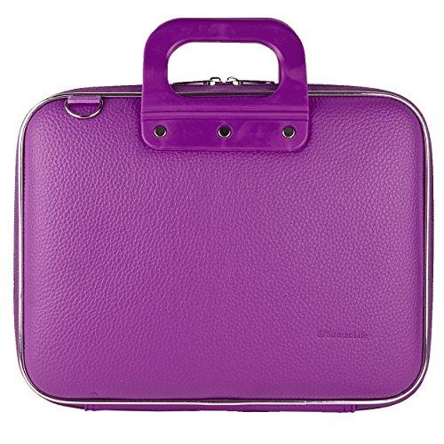 For Acer Chromebook 11 CB3-131-C3SZ Laptop Bag, SumacLife Cady Shoulder Messenger Bag Case Sleeve for 10 to 11.6 inch Laptops and Tablets (Purple)