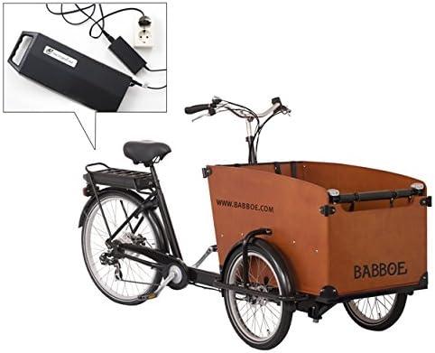 Babboe Big Bicicleta de carga eléctrica, 3 ruedas: Amazon.es ...