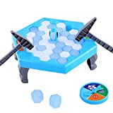 WEKA Puzzle Table Games Penguin Knock Trap Board Game Ice Breaking Save Kids Early Educational Block Interactive Desktop Party Toys
