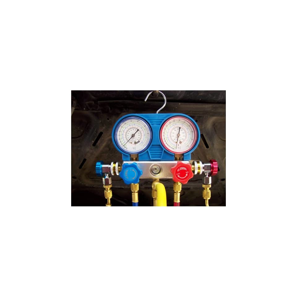 U.S. Genral A/C Manifold Gauge Set R134A Freon