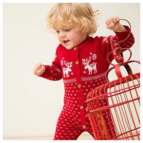 24 Bébé Red Amurleopard fille 0 À Combinaison Mois wZnqgPS7