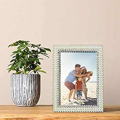 Amazing Roo Metal Picture Frames 5x7/4x6 for Tabletop Display Poster Photo Frame