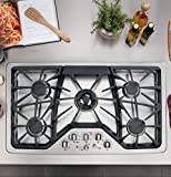 "Appliances : GE Cafe CGP650SETSS 36"" Built-In Gas Cooktop"