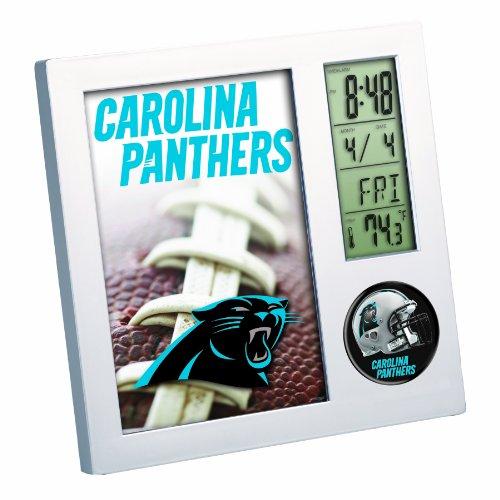 NFL Carolina Panthers Digital Desk Clock