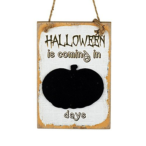 Days Until Halloween Countdown Chalkboard: Amazon.co.uk: Kitchen ...
