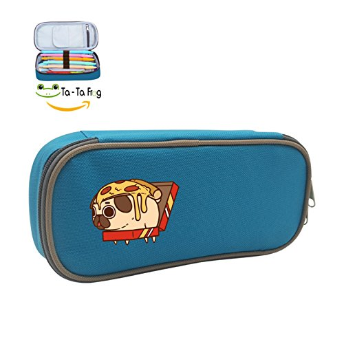 Hamburger Pug Pencil Holder Storage Organizer Stationery Pen Case Nlcs Home Game