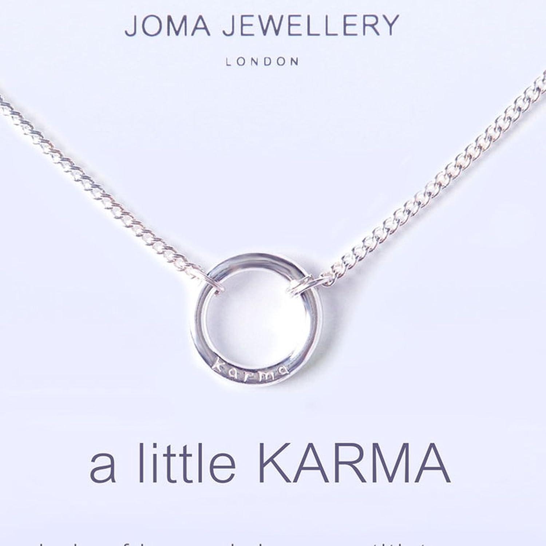 Joma Jewellery A Little Karma necklace LsSDuhUYx2