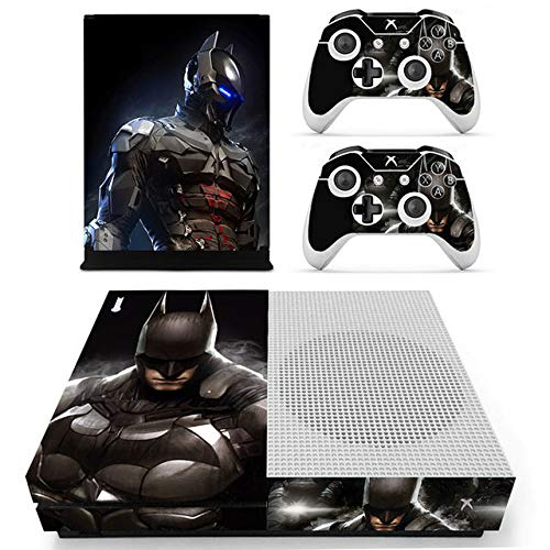 Tullia Protective Vinyl Skin Decal Cover for Xbox One S Console Wrap Sticker Skins with Two Free Wireless Controller Decals Super Hero
