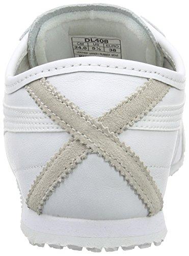 Onistuka 0101 Adulto Mexico 66 white Ginnastica Scarpe Da Tiger Bianco white Unisex rOPwqr