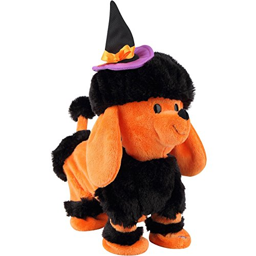 Gemmy Animated Dancing Twerking Poodle w/ Witch Hat Halloween (Halloween Poodle)