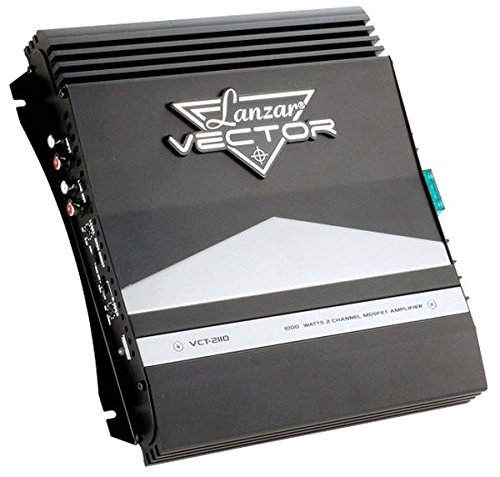 Lanzar VCT2110 1000 Watt 2 Channel High Power MOSFET Amplifier (Chevy Pickup Turn Signal Switch)