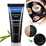 Mask Blackhead Remover Mask - Purifying Quality Black Peel off Charcoal Mask - Black Facial Cleansing Mask [Remove Blackheads]