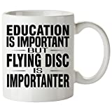 FLYING DISC Mug 11 Oz - Good for Gifts - Unique Coffee Cup