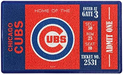 Evergreen Turf Mat, Chicago Cubs