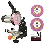 Electric Upright Bench Mount Chainsaw CHAIN SHARPENER GRINDER w/ Grinding Discs by The ROP Shop