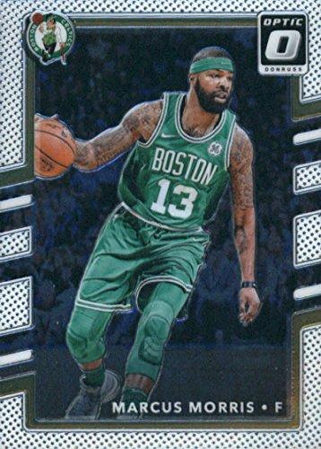 2017-18 Donruss Optic #8 Marcus Morris Boston Celtics Basketball Card