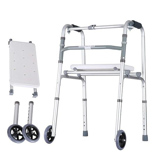 XINKONG Andador Soportes para Caminar Andador Auxiliar De Aleación ...
