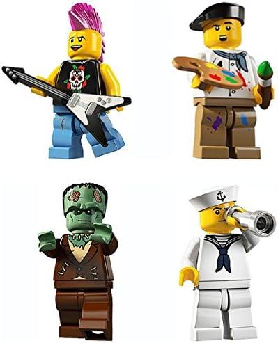 Lego Minifigures Series 4 Punk Rocker Minifigure 8804