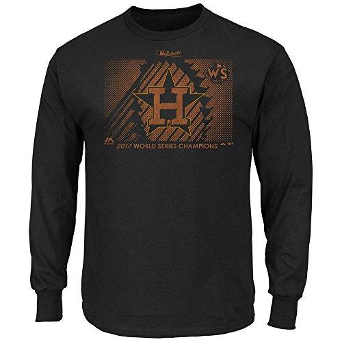 Houston Astros 2017 World Series Champions Long Sleeve Men's Parade T-shirt 4XL Tall