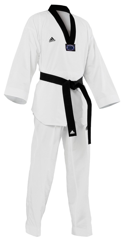 adidas Taekwondo Dobok, Black-V