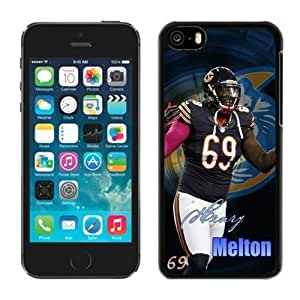 NFL&Chicago Bears Henry Melton iphone 5C phone cases&Gift Holiday&Christmas Gifts PHNK624373