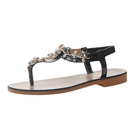 65d2355784fa2 Amazon.com: Women Rhinestone Flip Flops Clearance Sale, NDGDA Ladies ...