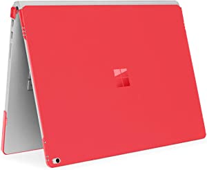 mCover Hard Shell Case for Microsoft Surface Book Computer 1 & 2 & 3 (15-inch Display, Red)