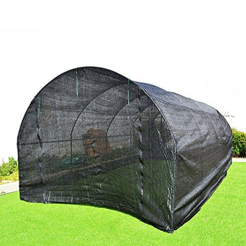X10 Outdoor Lighting: BenefitUSA BLACK Hot Greenhouse Large Walk-In Outdoor