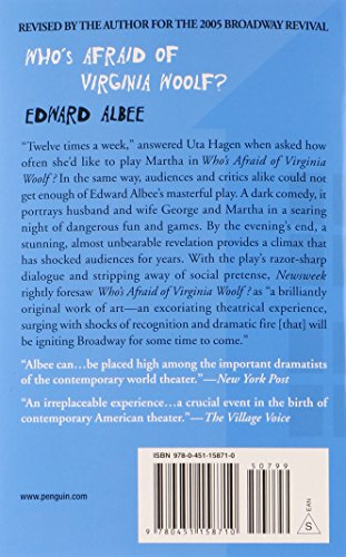 an analysis of the cultural turn in society in albees play whos afraid of virginia woolf