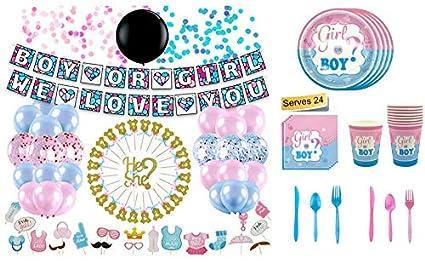Amazon.com: Juego de 234 piezas de decoración para fiesta de ...