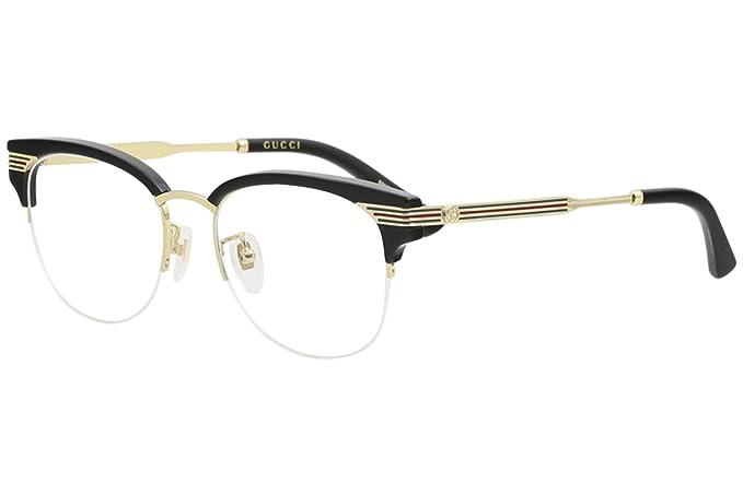 Guantity limitata migliore selezione del 2019 fornire un'ampia selezione di Occhiali da vista Gucci - GG0201O 001 nero in metallo ...