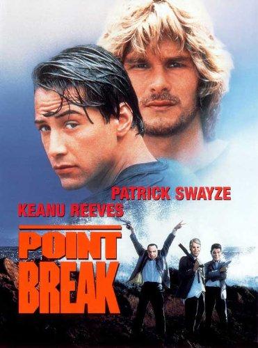 Point Break Movie Poster 1991