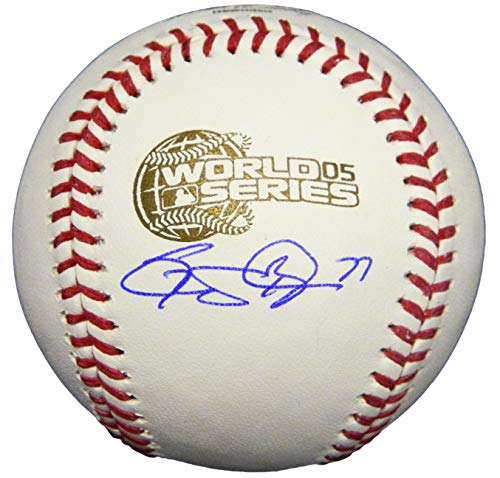 - Geoff Blum Signed Rawlings 2005 World Series Baseball