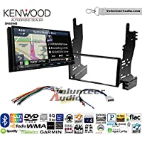 Volunteer Audio Kenwood Excelon DNX994S Double Din Radio Install Kit with GPS Navigation Apple CarPlay Android Auto Fits 2007-2008 Nissan Maxima