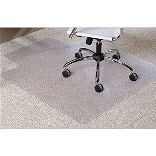 Heavy Duty Chair Mats - Office Desk Chair Mat for Carpet PVC Dull Polish Protection Floor Mat 48