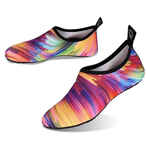 Spugna Pantofole Da Uomini Suole Immersione Barefoot Yoga Snorkeling Spiaggia Casa Colorato Mare Scoglio Donne E Per In Neopre Scarpe Corsa Surf Con Hd788q