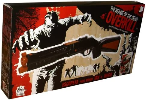 Wii The House Of The Dead Overkill Bundle With Shotgun Motion