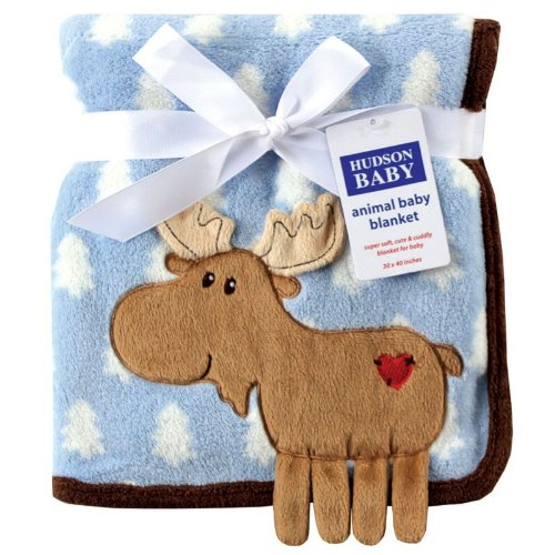 Hudson-Baby-Coral-Fleece-3D-Animal-Blanket-Blue