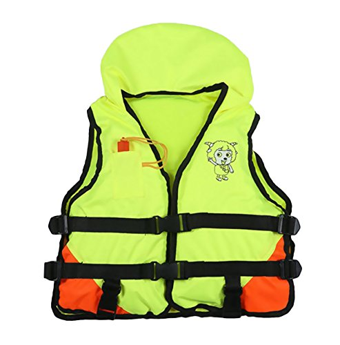Meanhoo Professional Life Jacket for Kids, Bubble Portable Surfing Fishing Drift Safety Vest Buoyancy Vest