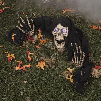 [LED Skeleton Groundbreaker] (Halloween Yard)
