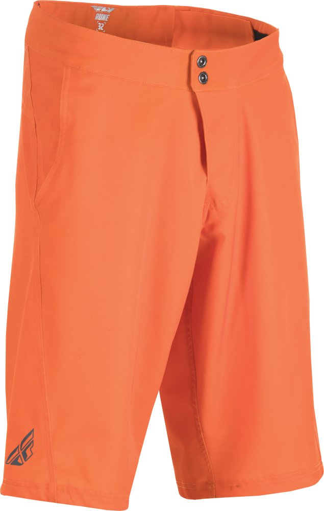Fly Racing Unisex-Adult Rune Shorts (Orange, Size 36)