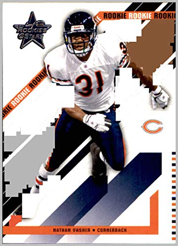 (2004 Leaf Rookies and Stars #115 Nathan Vasher RC Rookie CHICAGO BEARS TEXAS LONGHORNS)