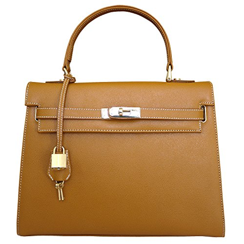 Carbotti Bellezza concepteur grab sac d'épaule - tan