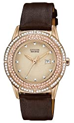 Citizen Women's FE1113-03A Drive From Citizen Eco-Drive TTG Analog Display Japanese Quartz Brown Watch