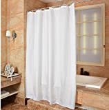 YOLOPLUS Bathroom 80*80 Inch Mildew-Free Water-Repellent Polyester Fabric Shower Curtain Extra Long