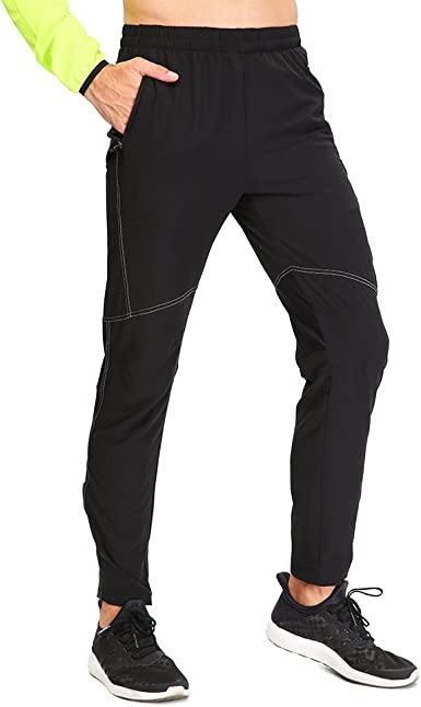 4ucycling mens outdoor leisure fitness trousers running trousers cycling breathable riding