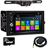 Otto Navi DVD GPS Navigation Multimedia Radio and Kit for Chevrolet Chevy Avalanche 2003-2006 with Back up camera and extra
